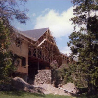 Kaelber Hall Construction 1983