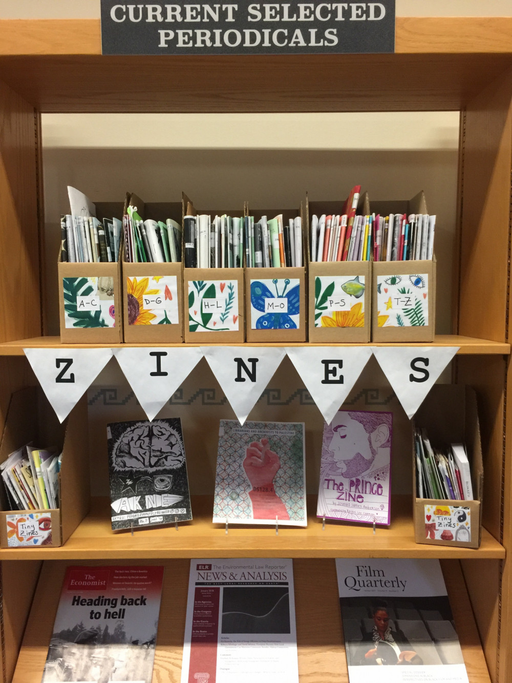 COA Thorndike Library collects zines from around the world. Members of the public are invited to...