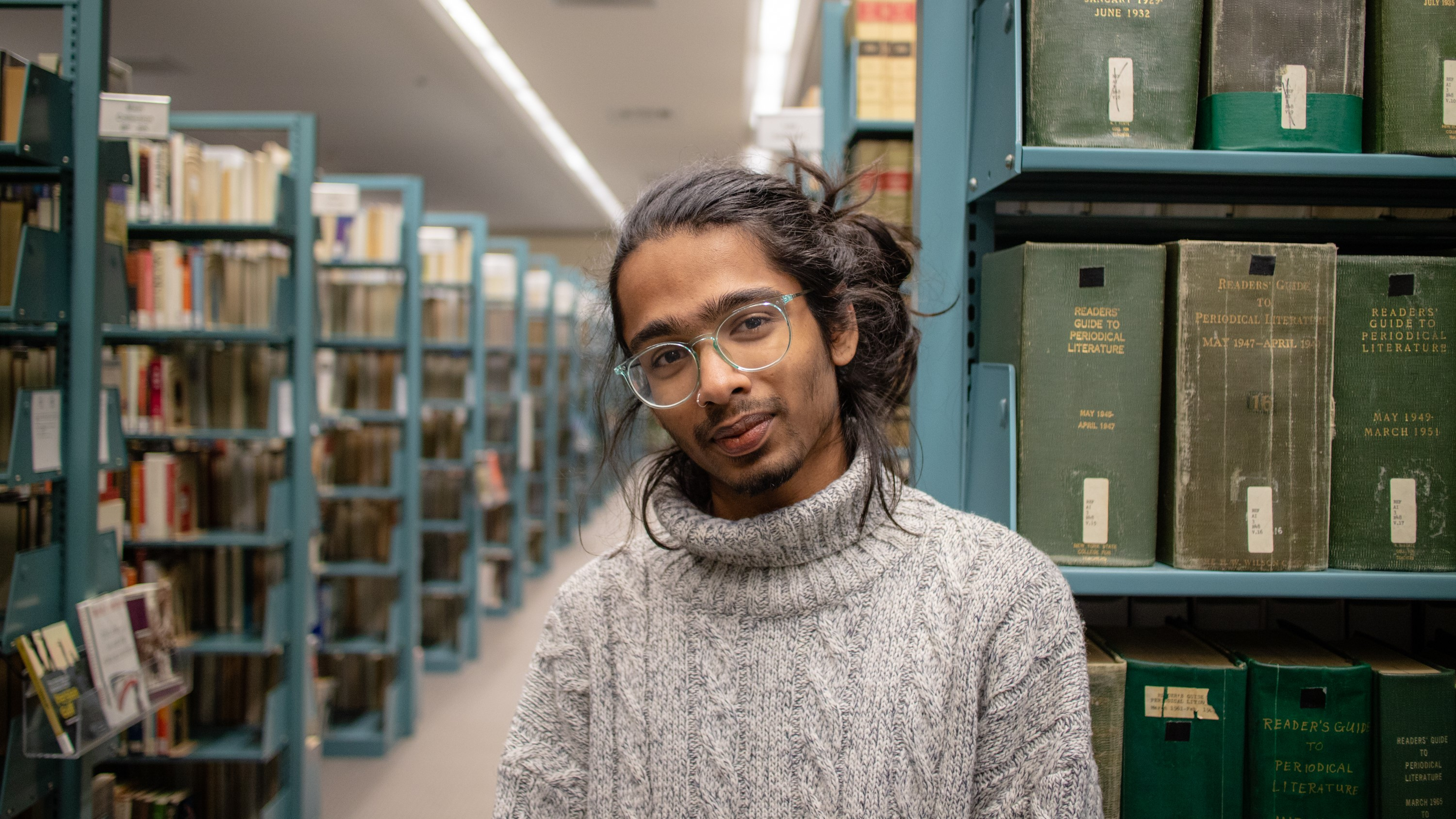 While archiving the personal papers of Edward Williams West, Aadityakrisha Sathish '19 learned ab...