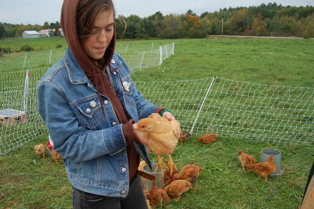 "College of the Atlantic students are involved in many experiential learning pursuits - in the classroom, on the water, and on the college's two working farms, above. The integration of sustainability into the curriculum is one of the factors that led the Princeton Review to name COA the <a href=""https://az589735.vo.msecnd.net/pdf/greenguide2016.pdf"" target=""_blank"">#1 Green College of 2016</a>."