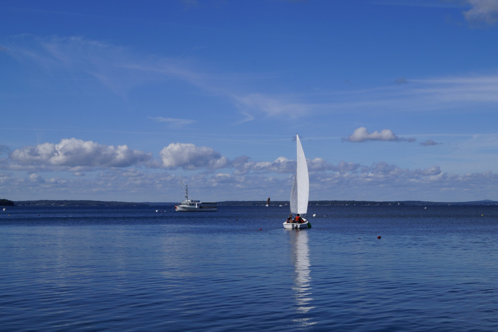 College of the Atlantic's location directly neighboring the Atlantic Ocean provides students, faculty, and other community members invaluable opportunities for sailing.