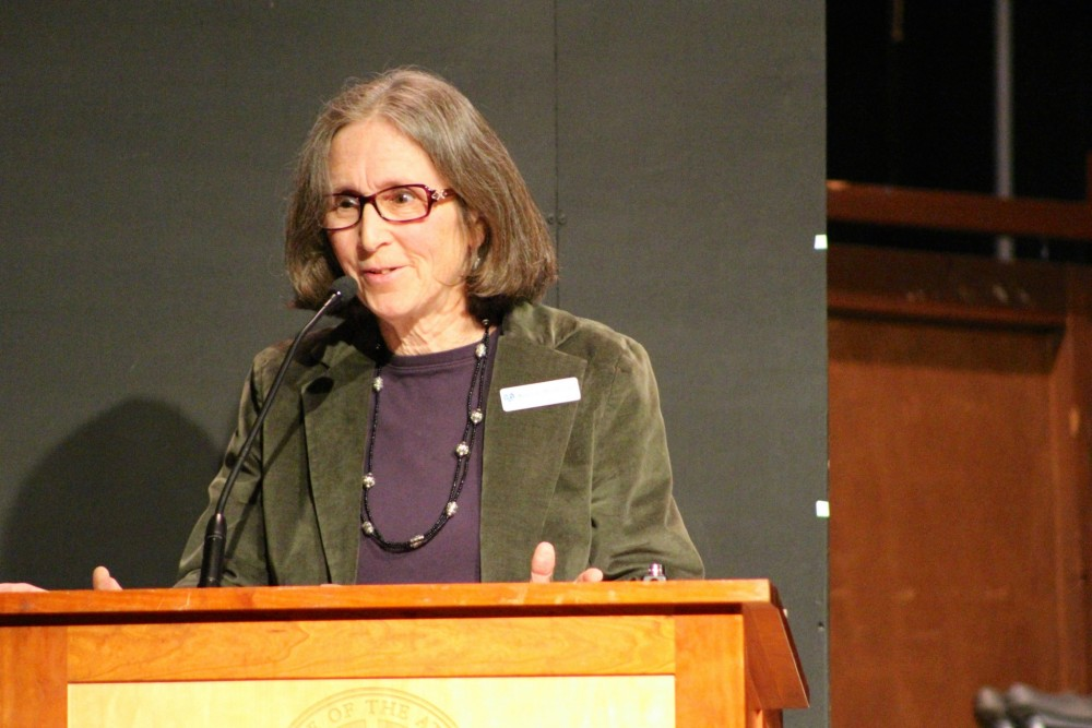 COA professor of literature and theory Karen Waldron shares her remarks at the 2016 Laurel Ceremony for graduating seniors.