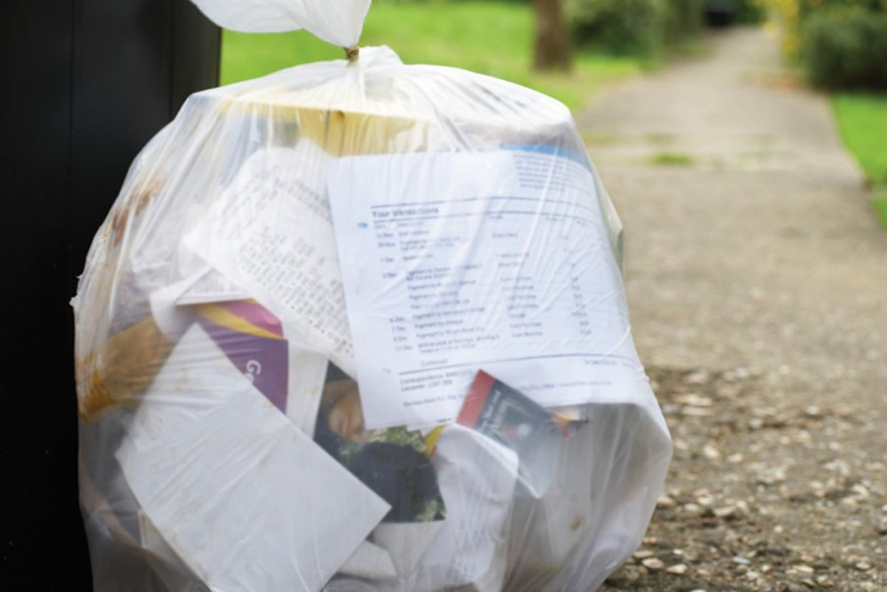 College of the Atlantic began an annual audit of its discarded items in 2014, in which the waste's potential use beyond trash such as compost or recycling is evaluated.