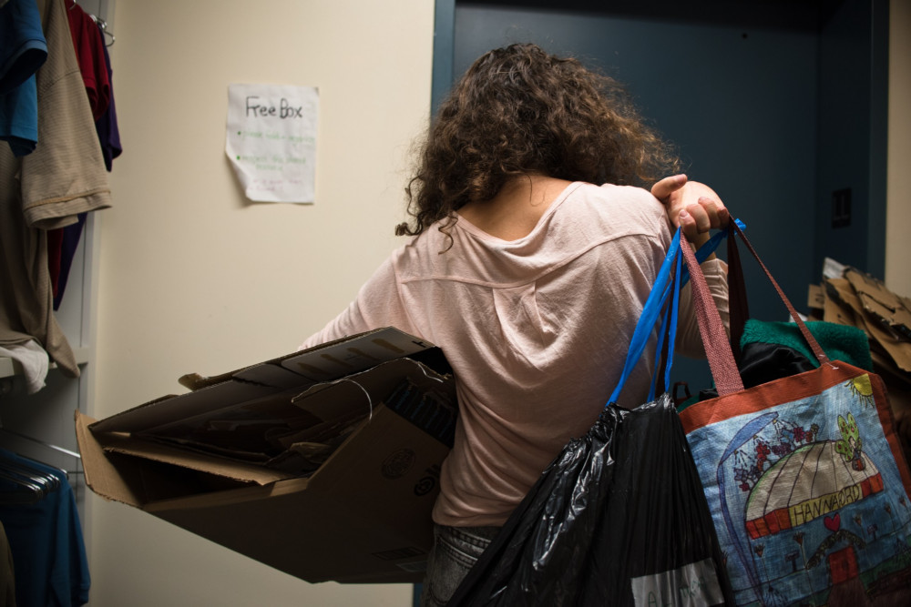 "Since 2013, College of the Atlantic holds an annual Discarded Resources Audit, in which <a href=""/live/news/1276-rummaging-through-garbage-for-a-good-cause-abc7"">one week's worth of trash and recycling</a> generated at the college is collected, sorted and displayed under a tent on the school's North Lawn."