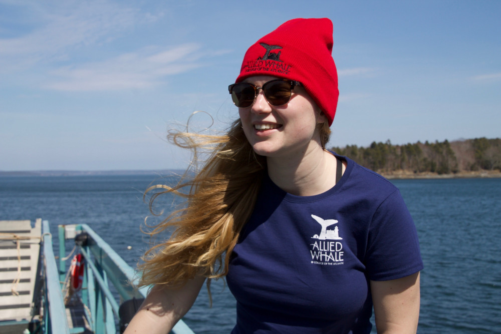 "<a href=""/allied-whale/"" target=""_blank"" rel=""noopener noreferrer"">Allied Whale</a>, College of the Atlantic's marine mammal research organization, now has an <a href=""/allied-whale/allied-whale-store/"" target=""_blank"" rel=""noopener noreferrer"">online store</a> featuring t-shirts, beanies, and more. Proceeds from the store directly benefit the group's research efforts."