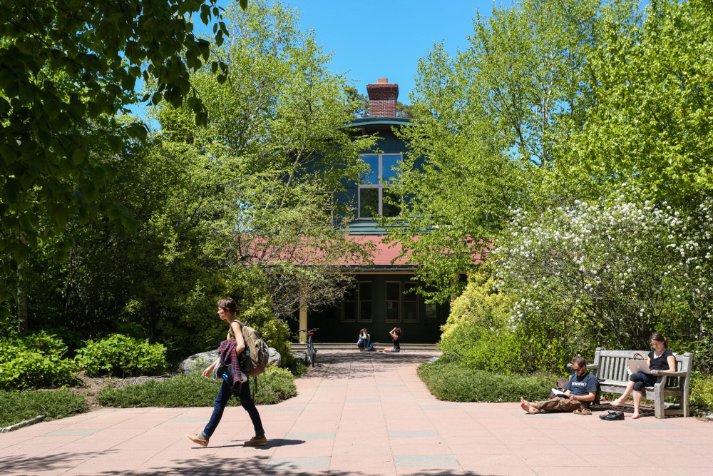 "With up to 75 percent of classes touching on aspects of <a href=""/about/environmental-commitment/sustainability-in-the-curriculum/"">environmental and social sustainability</a>, College of the Atlantic is Princeton Review's #1 Green College of 2017, the second year in a row the school has landed the top spot."