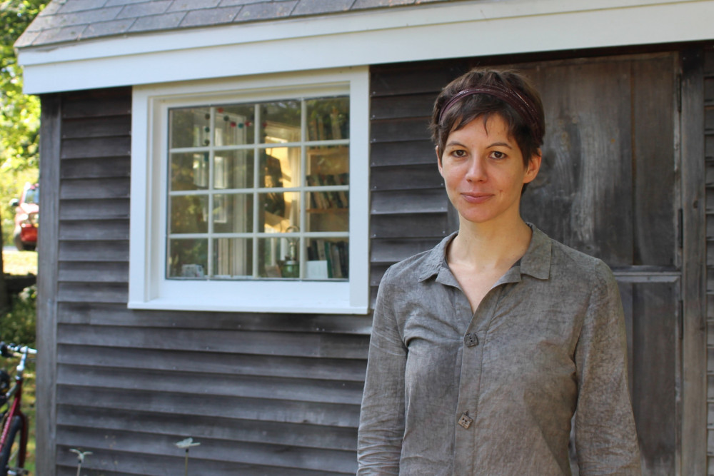 Netta van Vliet is the new professor of anthropology at College of the Atlantic.