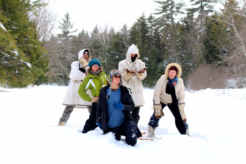 COA students participating in the winter camping trip came from a number of different states and countries, including Georgia, Massachusetts, Italy, and South Korea.