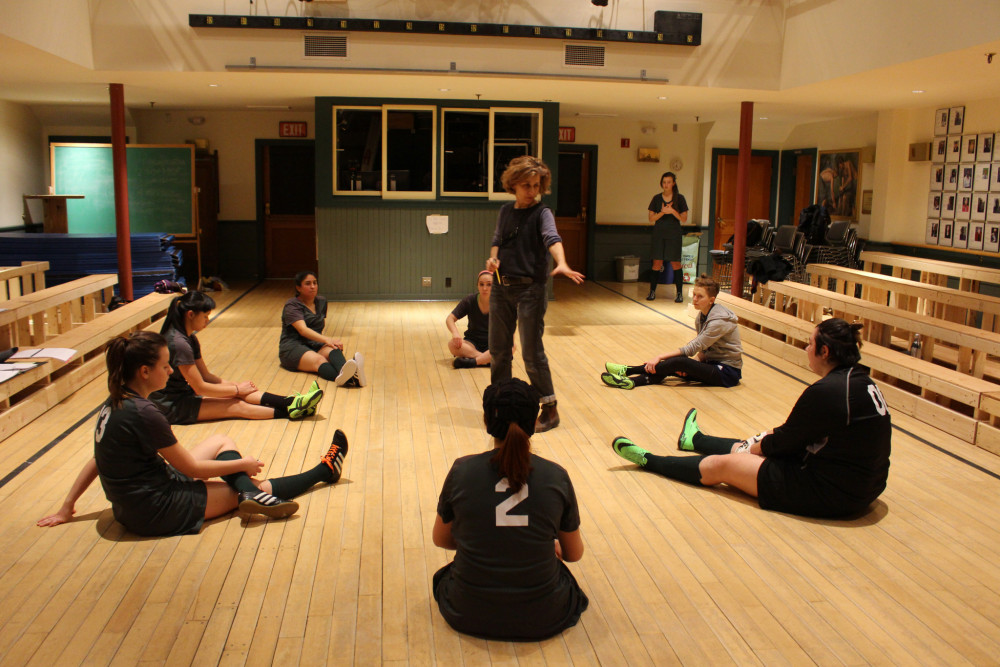 In Special Topics in Production, an experiential course taught by COA Chair in Performing Arts Jo...