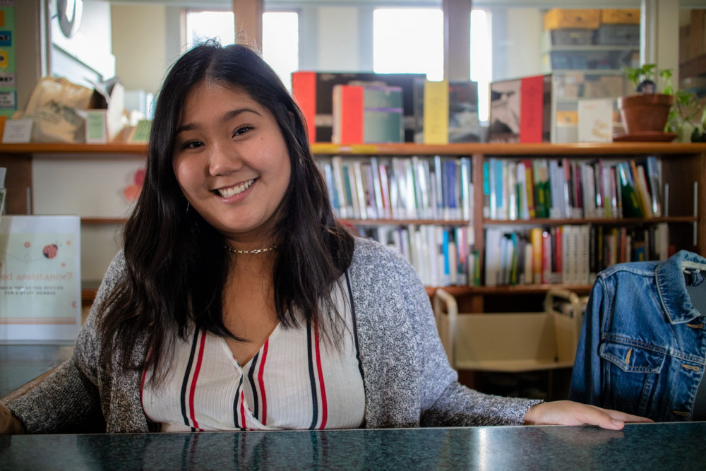 Marina Lika Uehara '20 combined her interests in literacy, communications, and international deve...