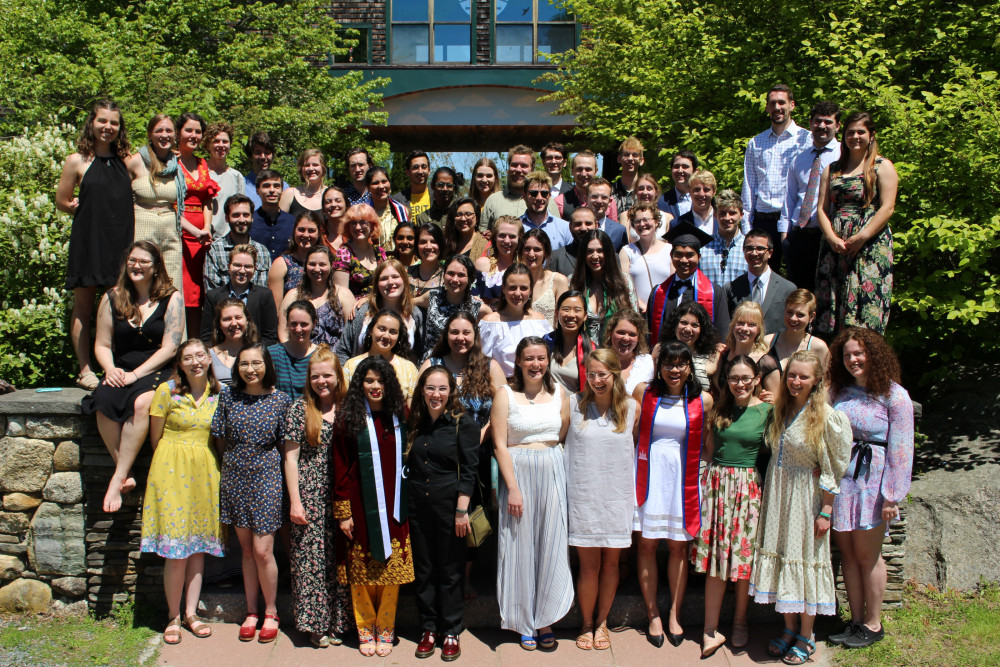 The College of the Atlantic class of 2019.
