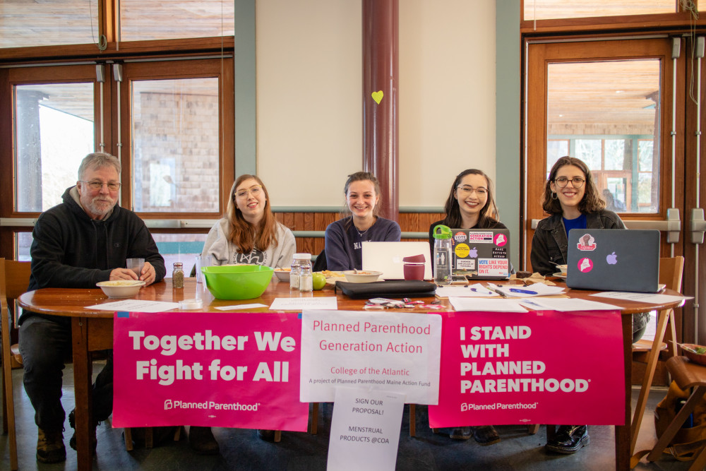Planned Parenthood Generation Action COA and allies collecting signatures on their proposal to pr...