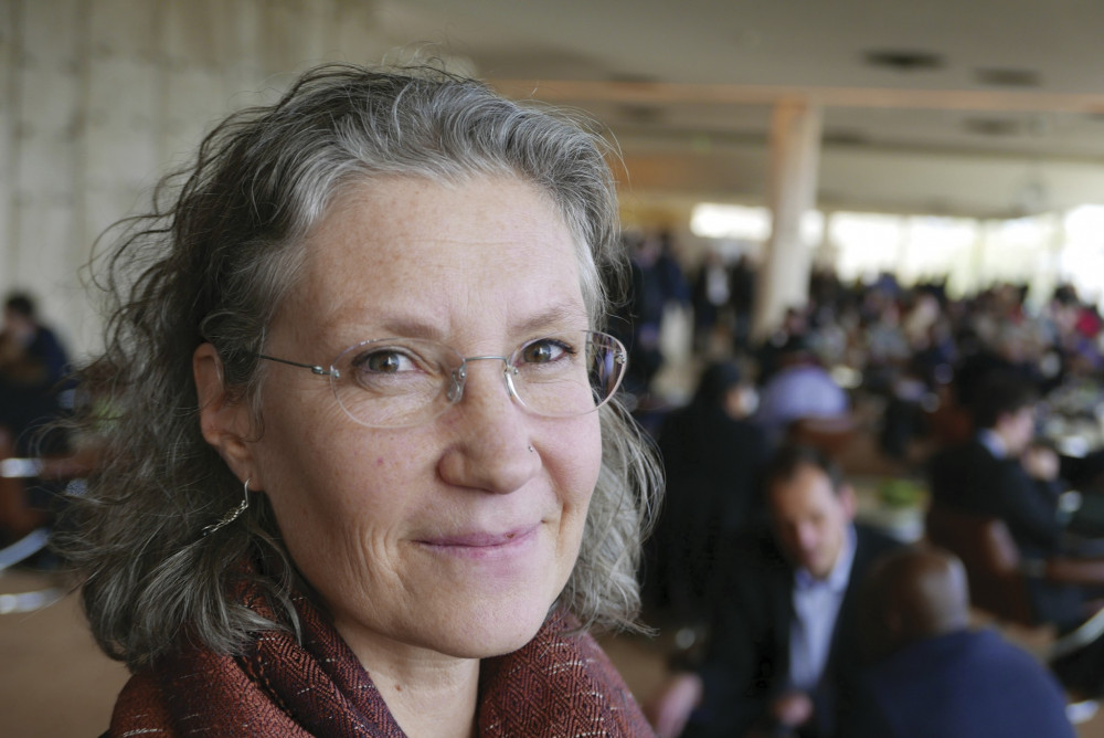 College of the Atlantic's professor of global environmental politics Doreen Stabinsky, above, comments on the radical change necessary for combating the climate crisis.