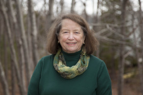Former Maine Library Media Specialist of the Year Susan Leiter, pictured, has partnered with long-time friend Anne Kozek on The Wild Gardens of Acadia, a new book about Acadia National Park's native gardens.