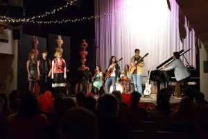 A musical performance at COA