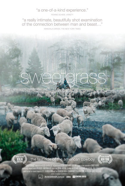 """Sweetgrass,"" an Ilisa Barbash documentary, will be shown at Bar Harbor's Reel Pizza Cinerama on May 14."