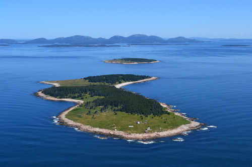 Great Duck Island, home to COA's Alice Eno Field Research Station.