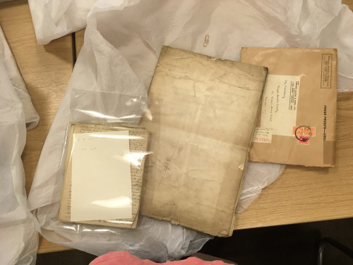 Papers from the Edward Williams West collection at The Royal Asiatic Society's library.