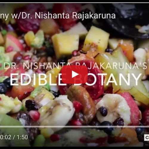 Edible Botany with Dr. Nishanta Rajakaruna