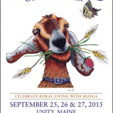 Arika von Edler '12 is the designer of the official Common Ground Country Fair image.