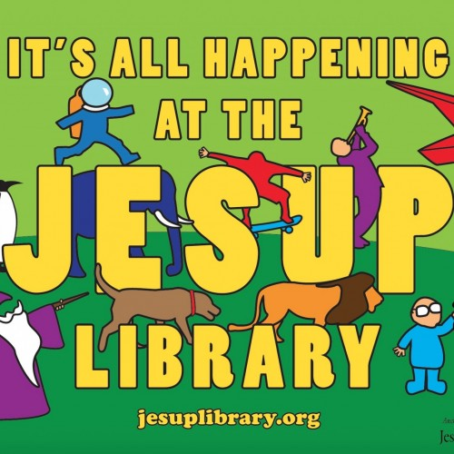 Designed by Nick Sawyer '16 for the Jesup Memorial Library.