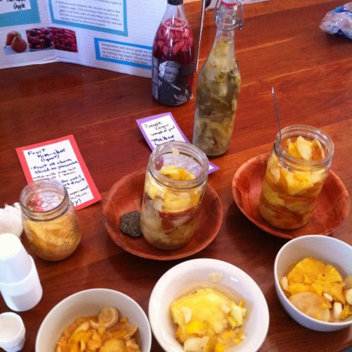 A display from the Fermentation Fair