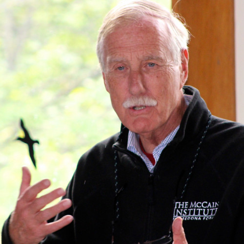 Maine's first independent senator, Angus King visits COA to speak with students about pressing is...