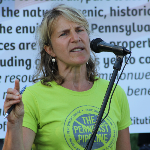 Delaware Riverkeeper Maya K. van Rossum, the founder of Green Amendments For the Generations.