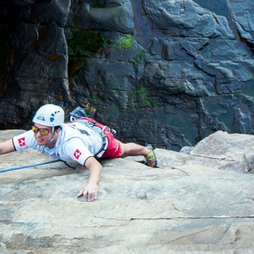The COA Outing Club goes climbing in Acadia National Park.
