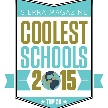 College of the Atlantic is a 2015 Top 20 Green School
