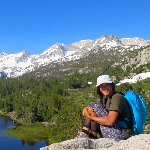 College of the Atlantic students participate in intensive field research in the Sierra Nevada.