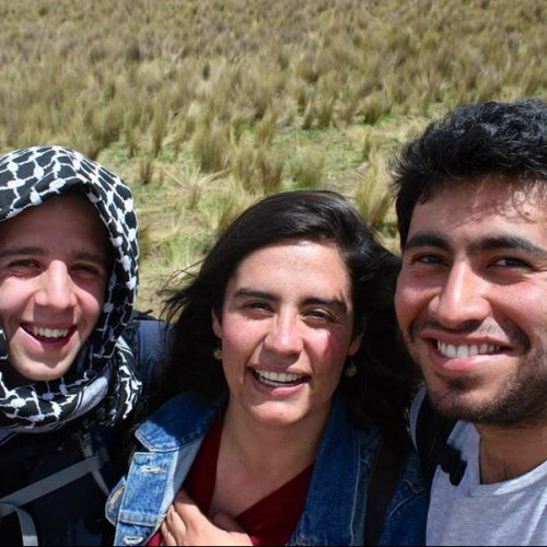 Students on an expedition to Bolivia