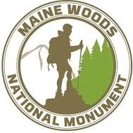 The logo for a proposed new national monument in Northern Maine.
