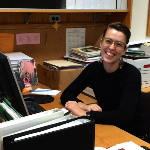 Maya Critchfield '16 working as a Lunder summer intern in the Art of the Americas department at the Museum of Fine Arts,...