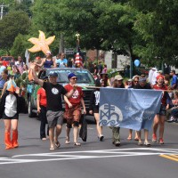 COA joins Bar Harbor's Independence Day parade