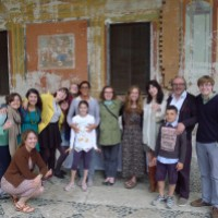 COA students and faculty on a 10-week expeditionary course in Italy
