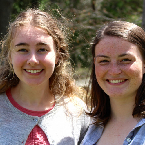 Two College of the Atlantic students, Teagan Rose and Sidney Anderson will spend their summer int...