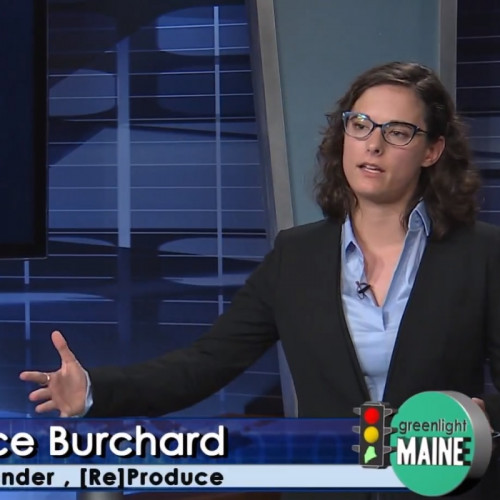 Sustainable food system startup [Re]Produce, pitched here on Greenlight Maine by Grace Burchard '17, was created in COA'...