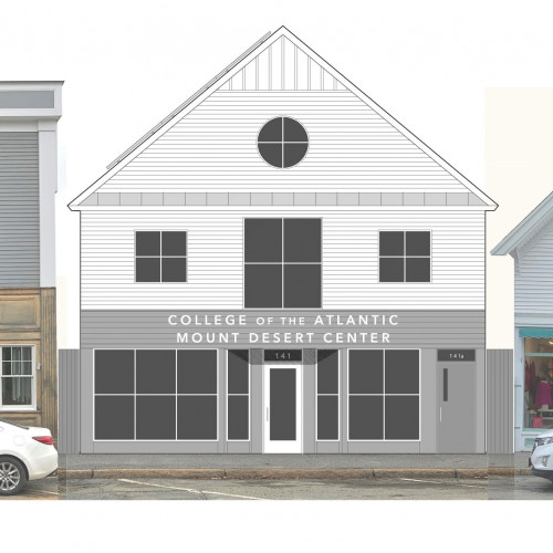 The COA Mount Desert Center at 141 Main Street, Northeast Harbor, will comprise energy-efficient ...