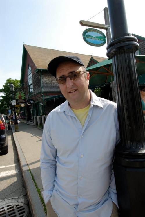 Michael Boland '94 is the owner of Bar Harbor cafe Choco-latte and restaurant Havana.