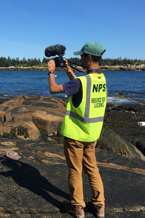 College of the Atlantic student Noah Rosenberg '18 created videos, photos, and stories to tell the story of Schoodic Institute during his time there as a COA Acadia Scholar.