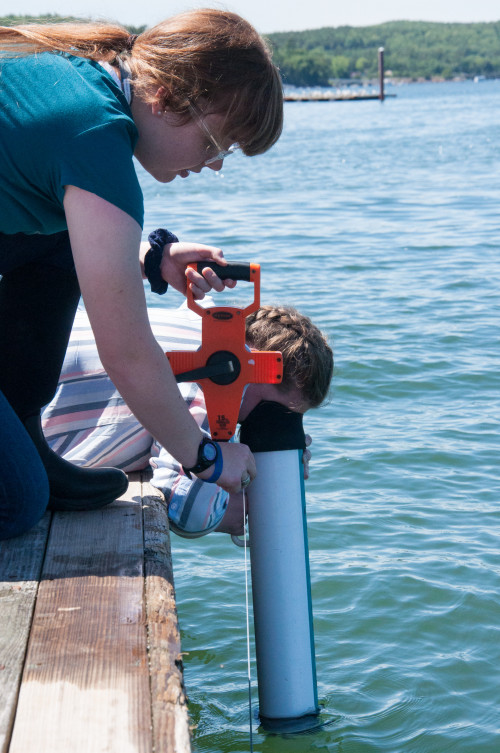 Marine science classes at COA and working on a local ferry for a summer inspired Analise Witten...