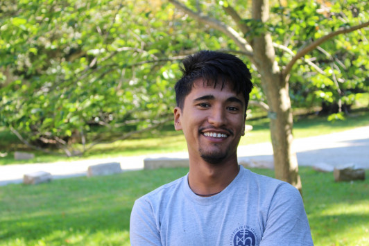 Surya Karki '16 is one of just 111 2016 Schwarzman Scholars.