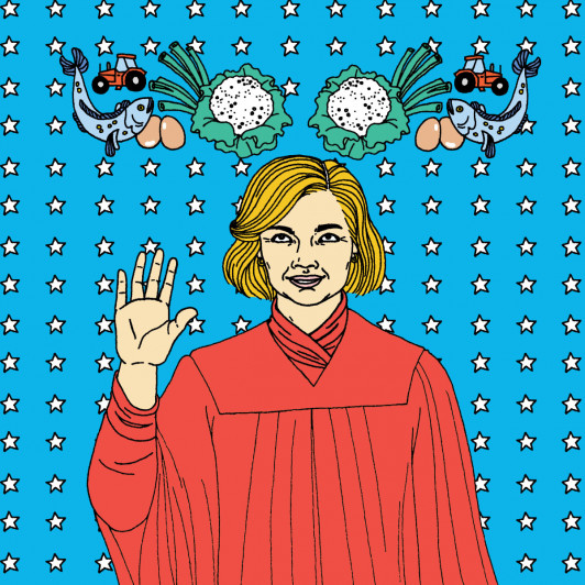 US Congresswoman Chellie Pingree '79 is featured in Bon Appétit Magazine.