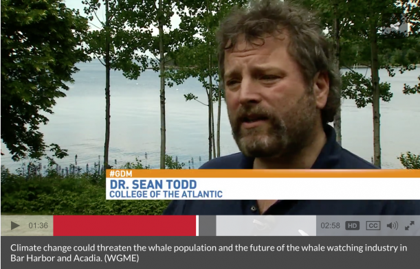 "<a href=""http://wgme.com/news/local/climate-change-could-threaten-acadias-whale-watching-industry"" target=""_blank"">Click for video.</a>"