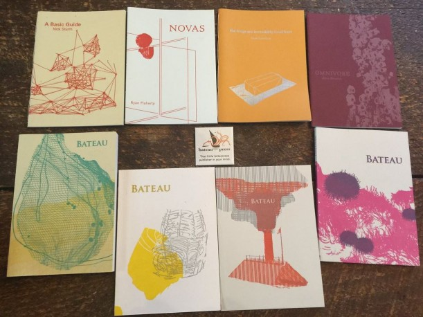 "The ""<a href=""/live/profiles/2667-little-magazines-contemporary-literary"" target=""_blank"">Little Magazines & Contemporary Literary Publishing</a>"" class at College of the Atlantic operates its own letterpress, with which it produces its own small-scale literature magazine, <a href=""https://bateaupress.org/about/"" target=""_blank"">Bateau</a>."