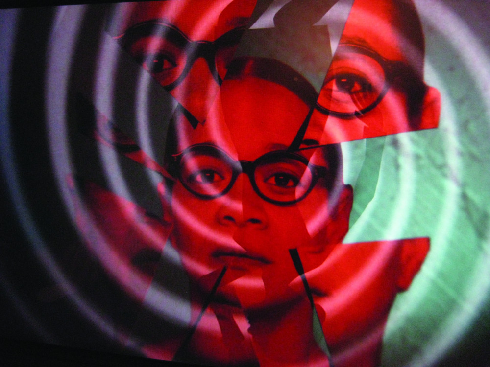 Animation stills from The Strange Eyes of Dr. Myes, featuring Michole Briana White; animated by faculty member Nancy Andrews and SL Benz (Lauren Benzaquen '14).