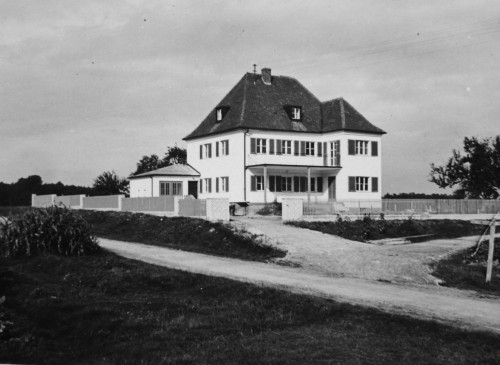 A relative's home in Neuhaus, Germany where Maria's grandmother evacuated to in 1942 with her mother and twin sister, ...