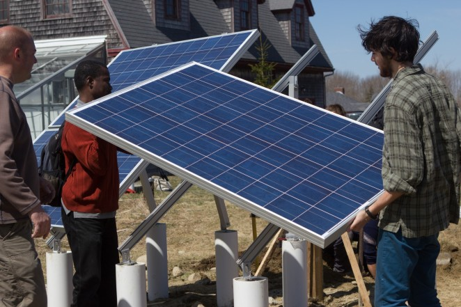 Beech Hill Farm Solar Panels Installation
