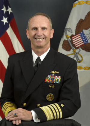 Admiral Jonathan W. Greenert, USN, Retired, speaks at COA as part of the 2018 College of the Atlantic Champlain Institute: International Affairs.